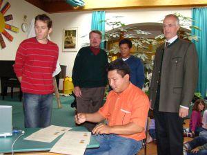 Manifestunterzeichnung in Bergheim
